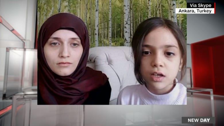 الطفلة بانا: ألوم الأسد والعالم لا يتحرك تجاه ما يحدث بسوريا