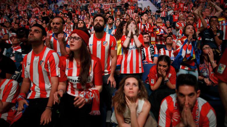 """حزن وفرحة في أبرز لخظات """"ديربي العاصمة"""" بين ريال مدريد وأتلتيكو مدريد"""