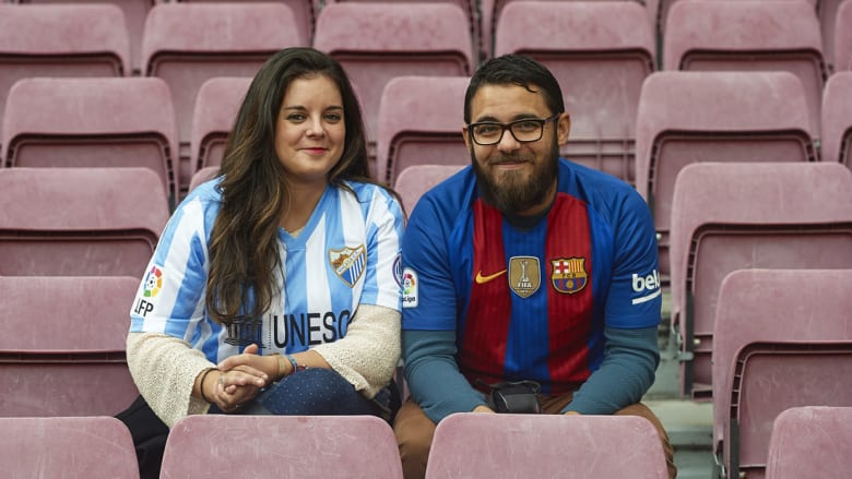 """مهمة صعبة لبرشلونة أمام ملقا في ملعب """"روزاليدا"""""""
