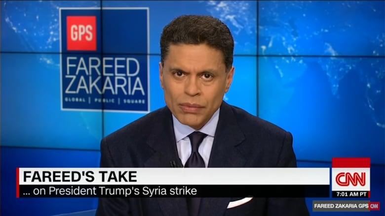 زكريا لـCNN: ضرب القاعدة السورية تكتيك رائع وهذه معانيه