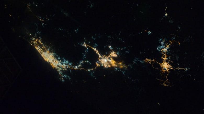 """""""ناسا"""" تشارك CNN بعض أجمل صور الشرق الأوسط من الفضاء"""
