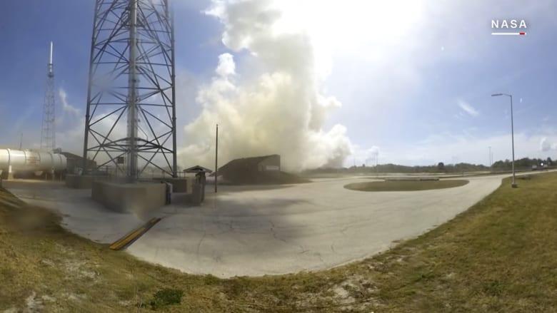 شاهد.. أول فيديو 360 لإطلاق صاروخ!