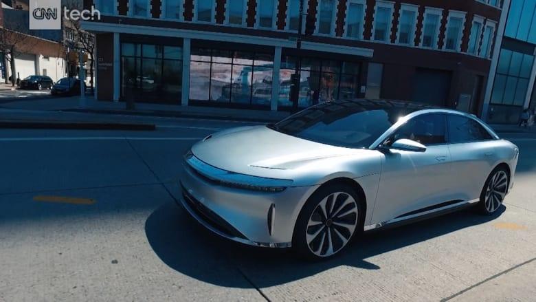"""هذه السيارة تسعى للإطاحة بـ """"تيسلا"""" في مجال المركبات الكهربائية"""