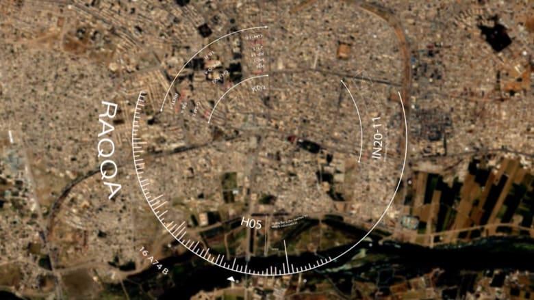 صور حصرية لـCNN تظهر شوارع الرقة من الفضاء