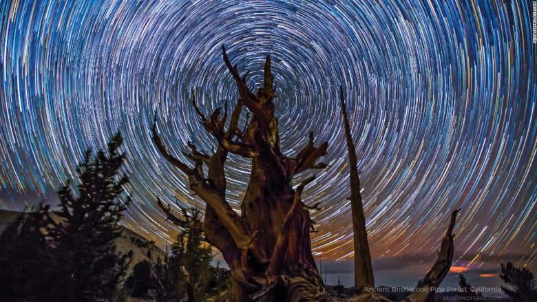 """مقاطع """"خيالية"""" للسماء أثناء الليل..بتقنية الفاصل الزمني"""