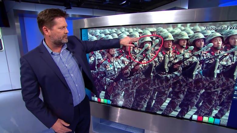 خبير يكشف لـCNN الأسلحة المزيفة التي استعرضتها كوريا الشمالية