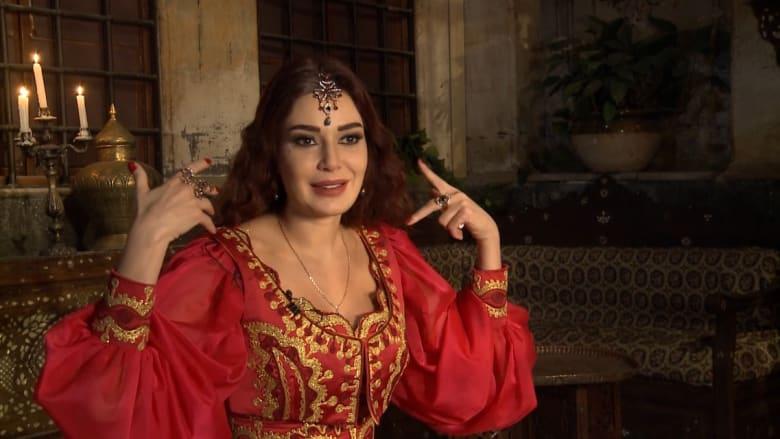 "سيرين عبد النور.. ""جنيّة حب"" تحرس عشّاق دمشق"