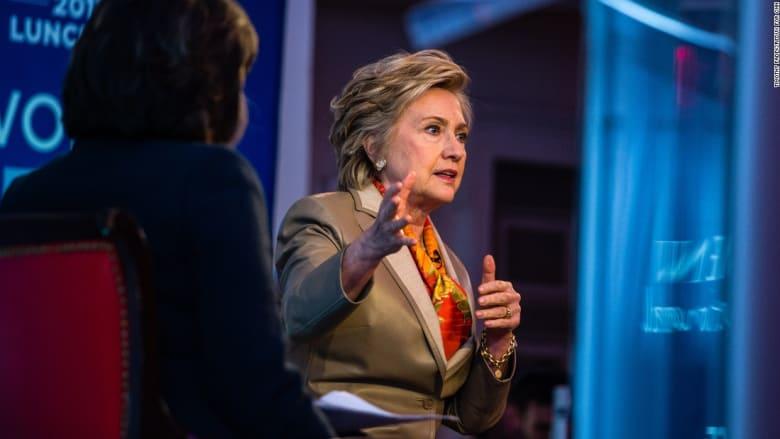 كلينتون: لو جرت الانتخابات قبل ليلة لكنت رئيستكم الآن
