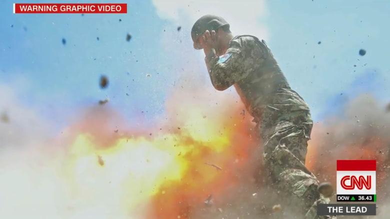 شاهد.. جندية أمريكية تلتقط آخر لحظاتها قبل مقتلها