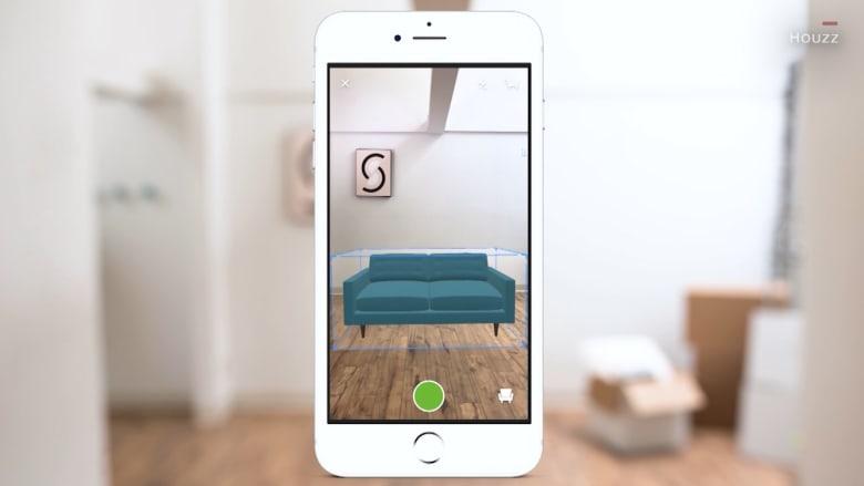 بتقنية الواقع المعزز.. يمكنك مشاهدة قطع الأثاث في منزلك قبل شرائها