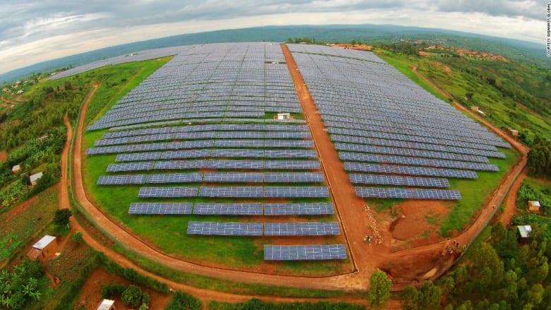 شاهدوا مشاريع أفريقيا العملاقة للطاقة النظيفة