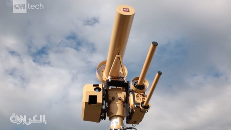 شاهدوا المدفع المضاد للطائرات الموجّهة