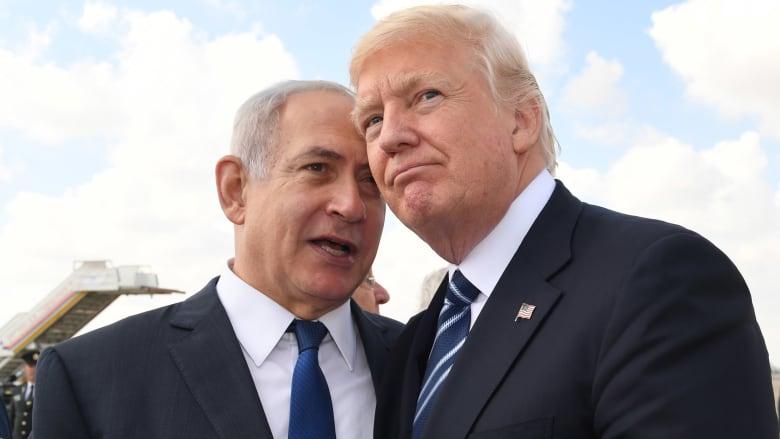 ماذا قال ترامب في إسرائيل عن القضية الفلسطينية والسعودية وإيران وحماس وحزب الله؟