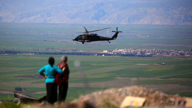 """التحالف يسقط طائرة """"درون"""" تخص نظام الأسد بعد """"إلقائها الذخيرة"""" على قواته"""