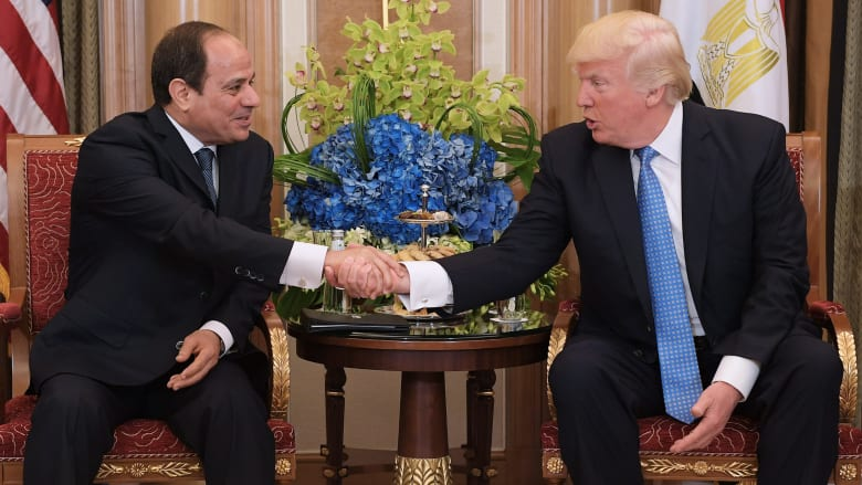 ترامب يتصل بالسيسي.. ويؤكد أهمية الحفاظ على الوحدة العربية