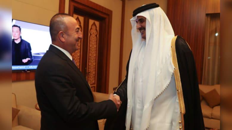أوغلو من الدوحة: وقوف تركيا مع قطر لا يعني أننا ضد أحد