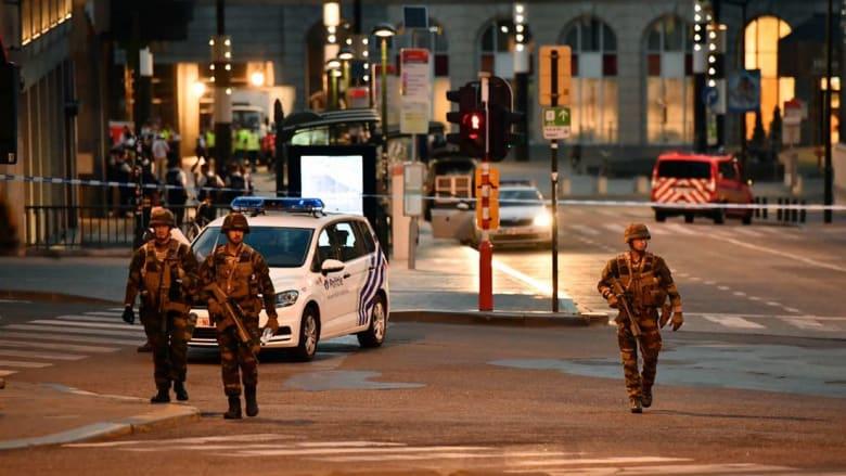 تفجير داخل محطة القطارات في بروكسل.. والمنفذ يلقى حتفه