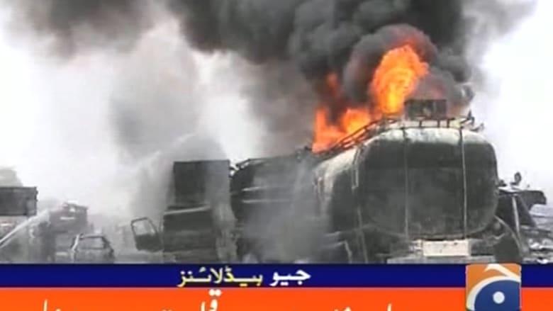 مقتل 140 وجرح المئات بانفجار صهريج نفط في باكستان