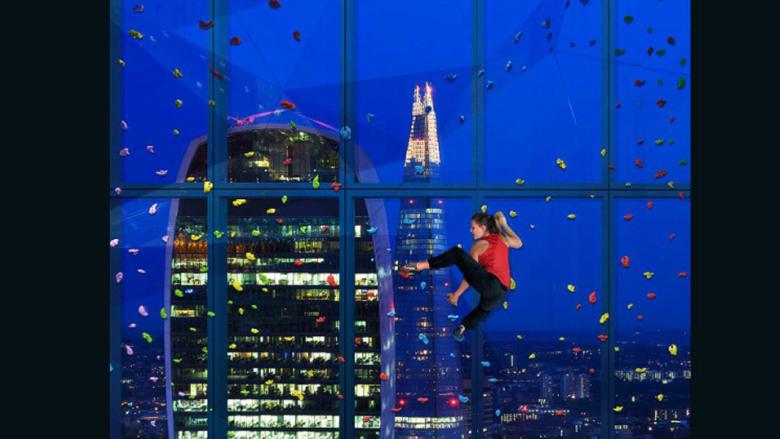 ناطحة سحاب جديدة في لندن بنافذة مخصصة للتسلق