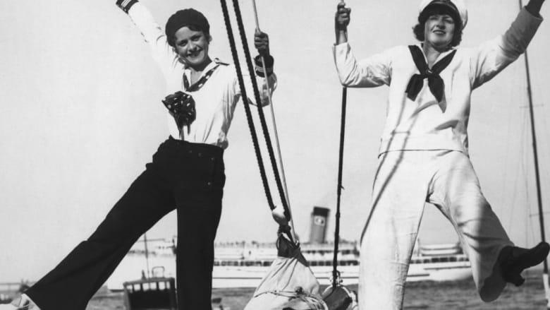 نظرة على تاريخ الموضة البحرية للنساء بالصور