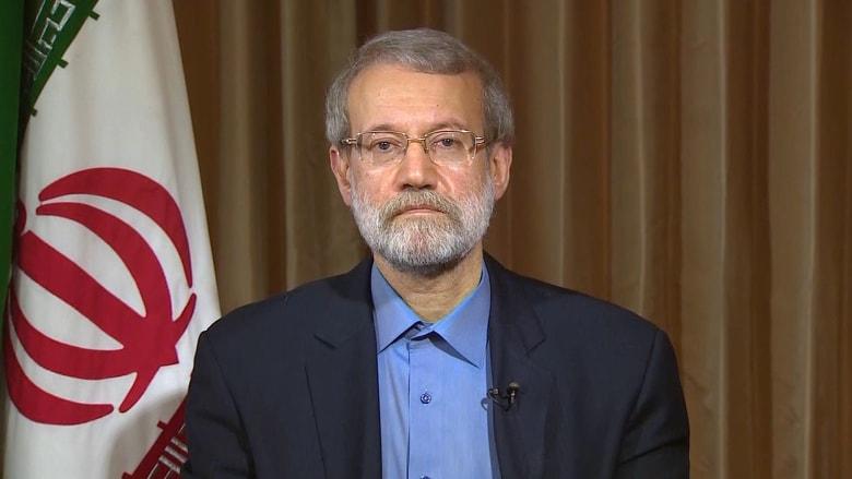 لاريجاني لـCNN: السعوديون ليس لديهم وزن بالمنطقة لإملاء أوامر على قطر