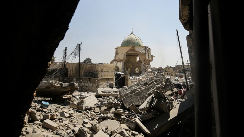 العبادي يعلن استعادة السيطرة على مسجد النوري.. والتحالف: الموصل لم تتحرر بعد