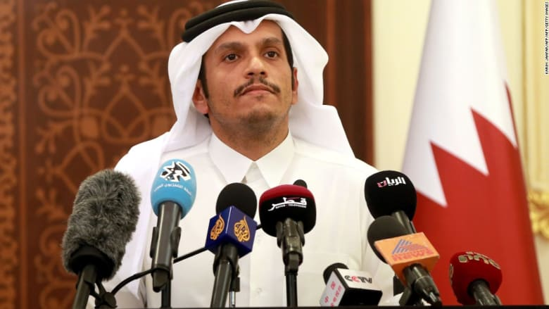 """وزير خارجية قطر: تعاملنا مع """"الدول المعتدية"""" بنضج"""