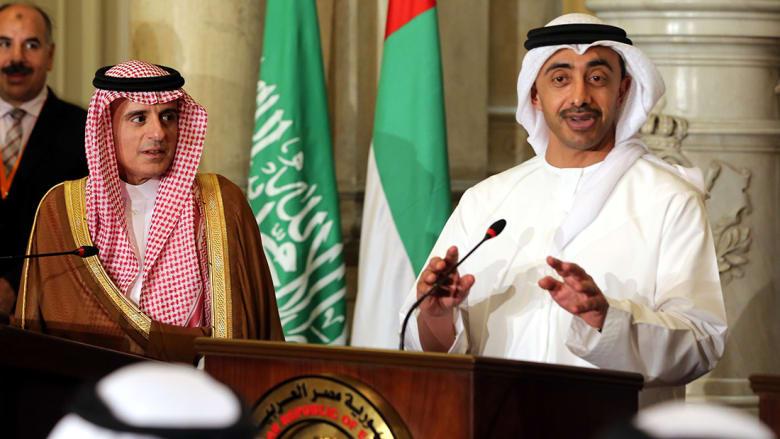 عبدالله بن زايد: قطر ليست مهتمة بأشقائها كما هي مهتمة بالتخريب والإرهاب