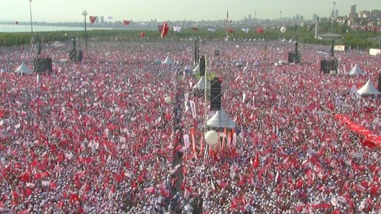 مسيرة المعارضة التركية تصل من أنقرة إلى اسطنبول