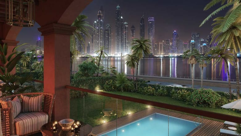 """أحواض استحمام بمليون دولار.. داخل فلل """"22 قيراط"""" في دبي"""