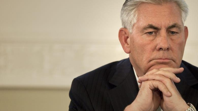 وزير خارجية أمريكا يبدأ جولة خليجية لبحث أزمة قطر