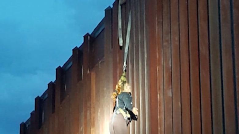 شاهد.. ماذا استخدم هؤلاء لتهريب امرأة من المكسيك إلى أمريكا