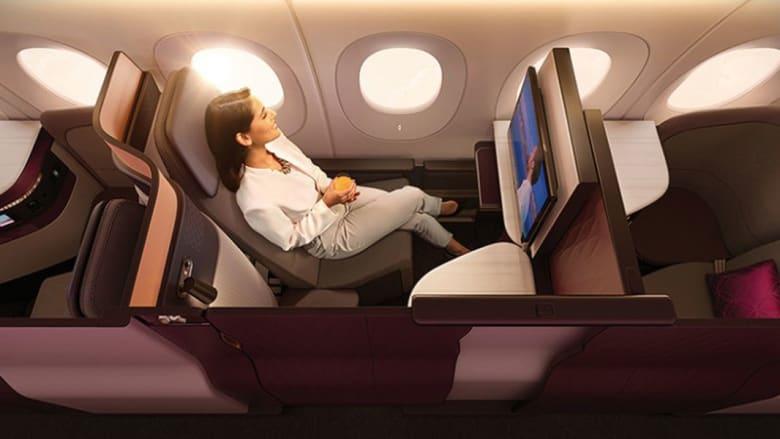 """شاهد كيف """"تحوّلت"""" درجة رجال الأعمال على الطيران القطري"""