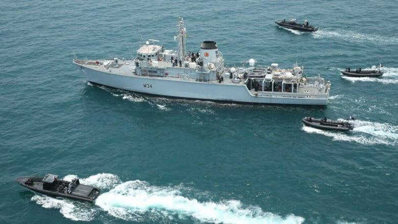 قطر تنهي تدريبات بحرية مع بريطانيا لمكافحة الإرهاب والقرصنة