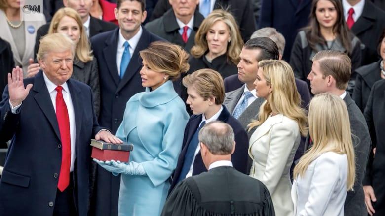 شاهد.. لحظات من أول 6 شهور للرئيس ترامب