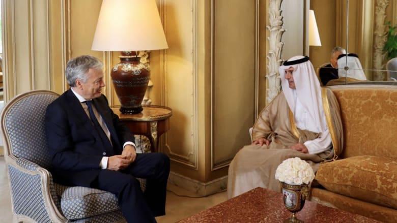 الجبير: السعودية لن تتسامح مع نشر التطرف.. ونريد من قطر وقف دعم الإرهابيين