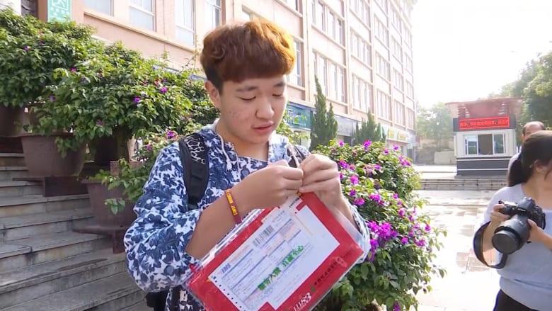 شاهد كيف ترسل جامعة صينية خطابات القبول للطلاب الجدد