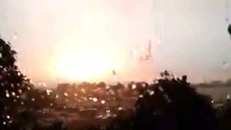 مصور يوثق عاصفة قوية تضرب اسطنبول.. وفجأة!