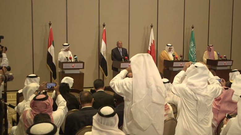 دول المقاطعة: مستعدون للحوار مع قطر بشروط