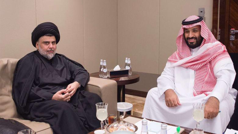 محمد بن سلمان يستقبل مقتدى الصدر للمرة الأولى