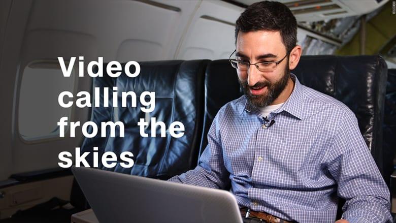 جربنا لكم مكالمة فيديو من السماء!