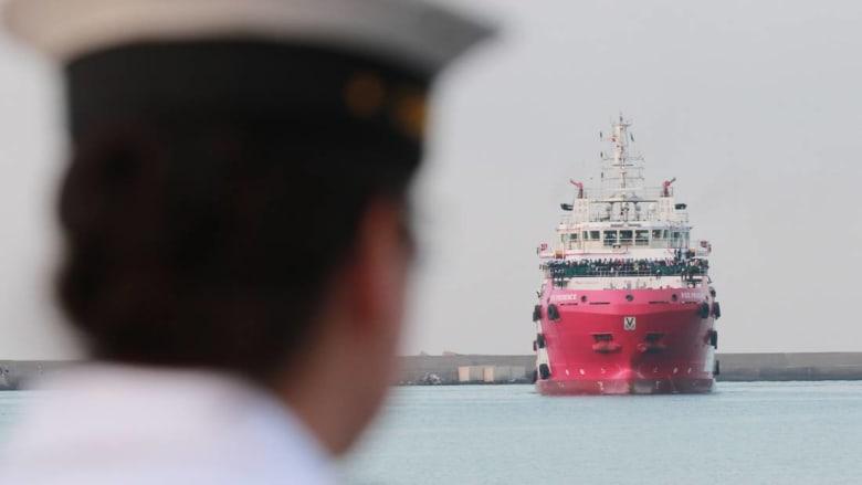 """بواخر إيطالية في اتجاهها إلى ليبيا.. وبرلمان الشرق يحذر من """"انتهاك"""" سيادة البلاد"""