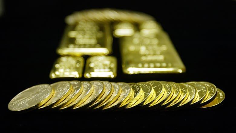 انخفاض الطلب العالمي على الذهب بـ14% في النصف الأول من 2017