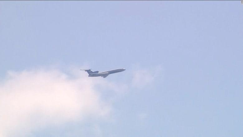 شاهد.. طائرة استطلاع روسية تحلق فوق العاصمة الأمريكية
