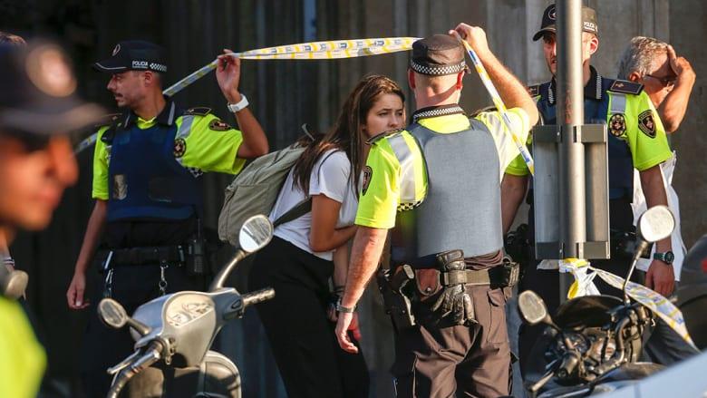 رئيس كتالونيا: اعتقال شخصين مشتبه بهما في هجوم برشلونة