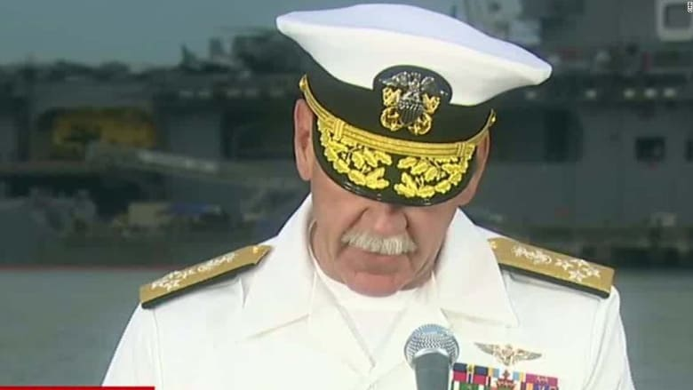 البحرية الأمريكية: العثور على بقايا بحارة مفقودين