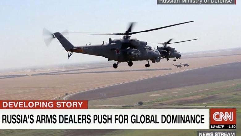 تجار الأسلحة الروسية يسعون للسيطرة على السوق العالمية