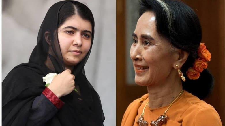 ملالا يوسفزي تنتقد زعيمة ميانمار: أنتظر منك إدانة العنف بحق الروهينغا