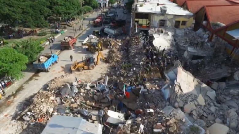 شاهد.. آثار أقوى زلزال يضرب المكسيك منذ قرن.. وسقوط عشرات القتلى