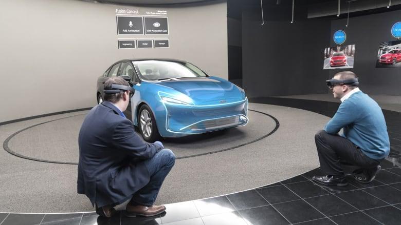 أهلاً إلى المستقبل.. فورد تستخدم الواقع المدمج لتصميم مركباتها